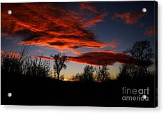 Acrylic Print featuring the photograph Wicked Skies by Janice Westerberg