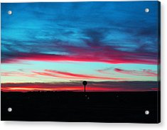 Wicked Sunset Acrylic Print
