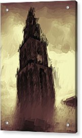 Wicked Tower Acrylic Print by Ayse Deniz