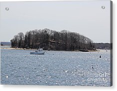 Wicket Island - Onset Massachusetts Acrylic Print