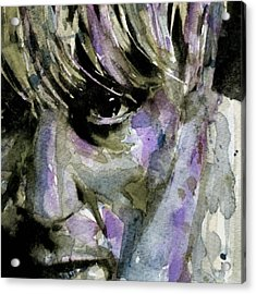 Wide Eyed Boy From Freecloud Acrylic Print by Paul Lovering