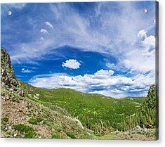 Wide Open Spaces Acrylic Print by Mark Andrew Thomas