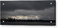 Wide View Acrylic Print by Dennis James