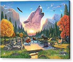 Widerness Harmony Acrylic Print by Chris Heitt