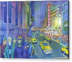 Widespread Panic Chicago  Acrylic Print