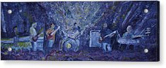 Widespread Panic Painted Live Two Acrylic Print
