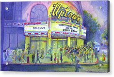 Widespread Panic Uptown Theatre  Acrylic Print by David Sockrider