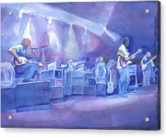 Widespread Panic With Michael Houser  Acrylic Print