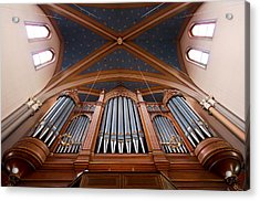Wiesbaden Marktkirche Organ Acrylic Print
