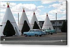 Wigwam Motel Holbrook Arizona Acrylic Print