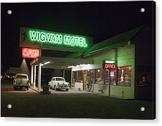 Wigwam Motel In Holbrook Acrylic Print