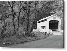 Wild Cat Covered Bridge, Lane County Acrylic Print