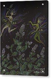 Wild Catnip Acrylic Print