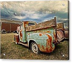 Wild Country Acrylic Print