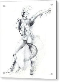 Wild Dancer Acrylic Print by Christopher Williams