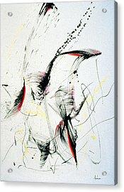 Wild Dancing Acrylic Print