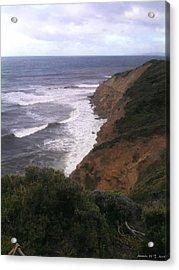 Acrylic Print featuring the photograph Wild Headland by Amanda Holmes Tzafrir