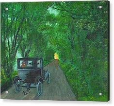 Wild Irish Roads Acrylic Print