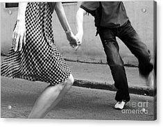 Wild Joy Of Dance Acrylic Print