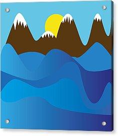 Wild Ocean Acrylic Print by Kenneth Feliciano