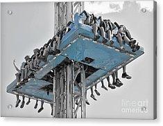 Wild Ride 2013 V.2 Acrylic Print by Joseph Duba
