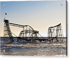 Wild Ride Acrylic Print by Michael Attanasio