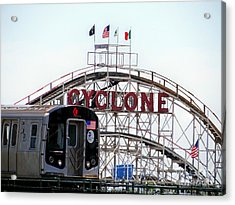 Acrylic Print featuring the photograph Wild Rides by Ed Weidman