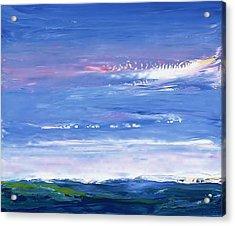 Wild Sea 1999 Acrylic Print