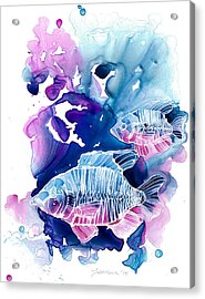 Wild Water Acrylic Print