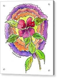 Wild Wildflower Acrylic Print