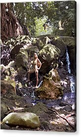 Wild Woman 2 Acrylic Print by Don Ewing