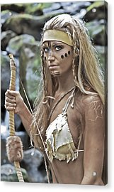 Wild Woman 1 Acrylic Print by Don Ewing
