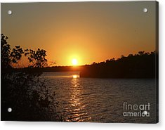 Wildcat Cove Sunset Acrylic Print