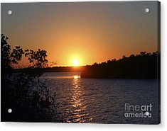 Wildcat Cove Sunset2 Acrylic Print