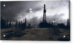 Wilderness Energy Acrylic Print by Daniel Hagerman