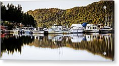 Wilderness Fishing Boats Acrylic Print