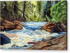 Wilderness River I Acrylic Print