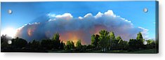 Wildfire Coming Acrylic Print by Ric Soulen