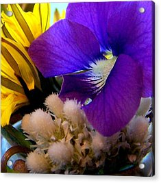 Wildflower Bouquet Acrylic Print
