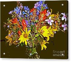 Wildflower Reminiscences Acrylic Print