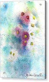 Wildflowers Acrylic Print by Joan Hartenstein