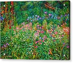 Wildflowers Near Fancy Gap Acrylic Print by Kendall Kessler