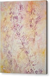 Wildflowers Three Acrylic Print by Carolyn Rosenberger