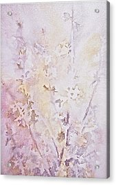 Wildflowers Two Acrylic Print by Carolyn Rosenberger