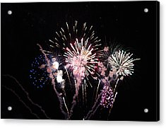 Acrylic Print featuring the photograph Wildwood Fireworks by Greg Graham