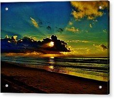 Acrylic Print featuring the photograph Wildwood Sunrise by Ed Sweeney