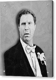 Will Ferrell Old School  Acrylic Print
