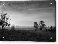 Willamette Valley Evening Acrylic Print