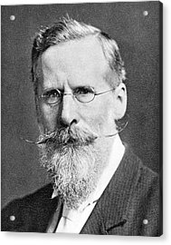 William Crookes Acrylic Print by Science Photo Library