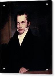 William Cullen Bryant (1794-1878) Acrylic Print by Granger